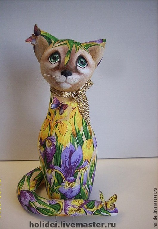 Animal Toys handmade. Livemaster - handmade. Buy cat-sisters Toffee and iris.Gift, dolls and toys, Cats
