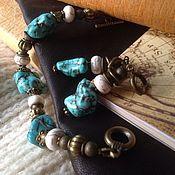 Bead bracelet handmade. Livemaster - original item Bracelet and earrings