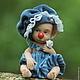Куклы-младенцы и reborn ручной работы. Заказать Жорик. Елена Кириленко. Ярмарка Мастеров. Клоун, хлопок