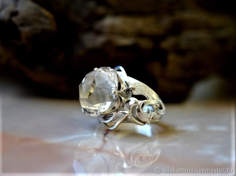 Topaz with rutile. Ring, Rings, Odessa,  Фото №1