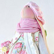 Куклы и игрушки ручной работы. Ярмарка Мастеров - ручная работа Зайка с рюкзачком. Handmade.
