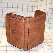Сумки и аксессуары handmade. Livemaster - original item Wallet small leather. Purse. Genuine leather.. Handmade.