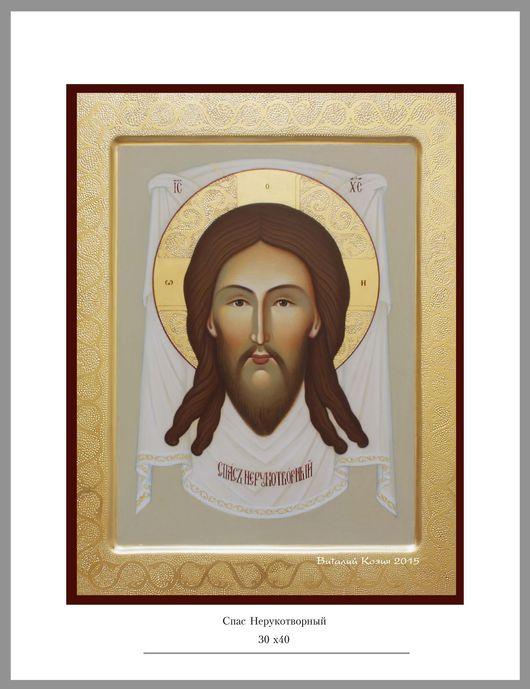 Рукописная православная икона на заказ.