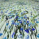 """Шитье ручной работы. Заказать Плательная вискоза с шелком """"Луговые цветочки"""". ИТАЛЬЯНСКИЕ ТКАНИ. ОЛЬГА и МАРИНА (memento-moda). Ярмарка Мастеров."""