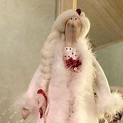 Куклы Тильда ручной работы. Ярмарка Мастеров - ручная работа Снегурочка тильда. Handmade.