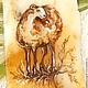 Магниты ручной работы. Заказать Магнит из камня Леди Овечка Символ 2015 года роспись по камню. Сувениры из натурального камня (yashmamagnit). Ярмарка Мастеров.