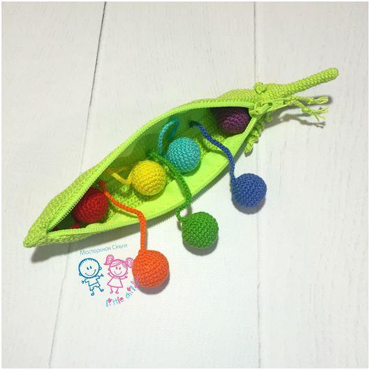 """Развивающие игрушки ручной работы. Ярмарка Мастеров - ручная работа. Купить Развивающая игрушка """"ГОРОХ"""". Handmade. Развивающая игрушка"""
