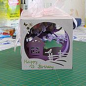 Подарки к праздникам ручной работы. Ярмарка Мастеров - ручная работа Волшебный кубик бумажный 100% Handmade. Handmade.