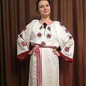 Одежда ручной работы. Ярмарка Мастеров - ручная работа Вышитая сорочка Берегиня. Handmade.