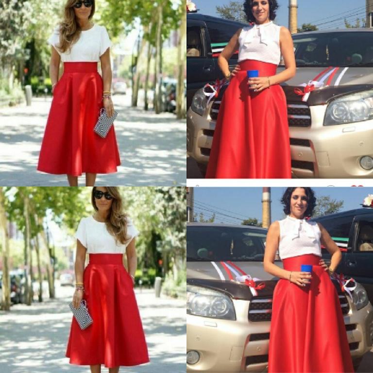 64a13c90291 красная юбка – купить в интернет-магазине на Ярмарке Мастеров с ...