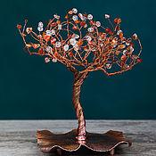 """Деревья ручной работы. Ярмарка Мастеров - ручная работа """"Солнечная осень"""", дерево из агата. Handmade."""