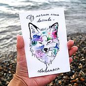 Открытки handmade. Livemaster - original item The author`s watercolor postcard.Dream. Handmade.