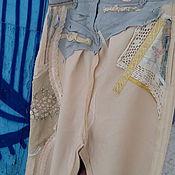 Одежда ручной работы. Ярмарка Мастеров - ручная работа СКИДКА 6000! брюки ДЛЯ РАДОСТИ. Handmade.