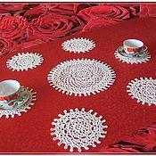 Для дома и интерьера handmade. Livemaster - original item Decorative napkins: Set of 7 napkins.. Handmade.