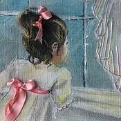 Для дома и интерьера ручной работы. Ярмарка Мастеров - ручная работа картина Девочка у окна. Handmade.