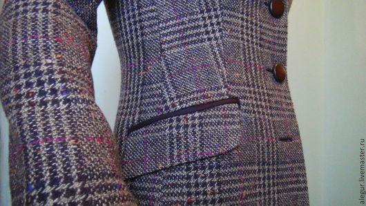 """Пиджаки, жакеты ручной работы. Ярмарка Мастеров - ручная работа. Купить Жакет классический """"Шотландский"""". Handmade. Классический стиль"""