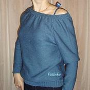 Одежда ручной работы. Ярмарка Мастеров - ручная работа Кофта с лентой на спине. Handmade.