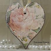 Подарки к праздникам ручной работы. Ярмарка Мастеров - ручная работа Сердце-валентинка. Handmade.
