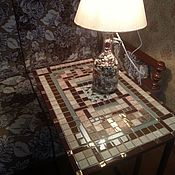 Для дома и интерьера handmade. Livemaster - original item Table with a mosaic of