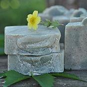 Косметика ручной работы. Ярмарка Мастеров - ручная работа Ветвь оливы, натуральное мыло-скраб с молотой оливковой косточкой. Handmade.