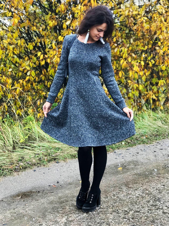 Платья ручной работы. Ярмарка Мастеров - ручная работа. Купить Платье с  начесом. 33959d3166b