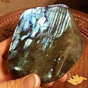 590гр. Интерьерный камень Лабрадор.