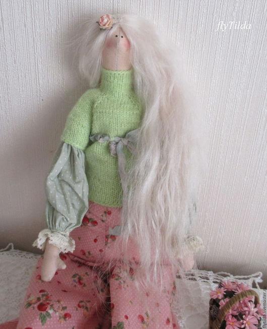 Куклы Тильды ручной работы. Ярмарка Мастеров - ручная работа. Купить Садовница-Беляночка. Handmade. Кукла, подарок, детская комната