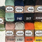 Пряжа ручной работы. Ярмарка Мастеров - ручная работа Nako Calico. Handmade.