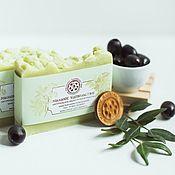 Косметика ручной работы handmade. Livemaster - original item Natural Castile soap from scratch soap Olive green. Handmade.