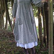 Одежда ручной работы. Ярмарка Мастеров - ручная работа Длинное платье бохо Шанталь. Handmade.