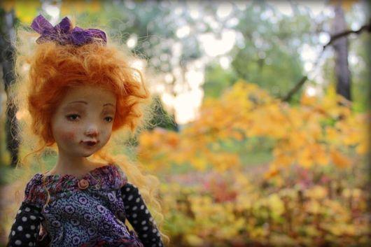 Коллекционные куклы ручной работы. Ярмарка Мастеров - ручная работа. Купить Маруся. Handmade. Коллекционная кукла, опилки, кружево