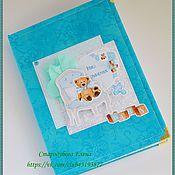 Подарки к праздникам ручной работы. Ярмарка Мастеров - ручная работа Беби-бук (Мамины заметки) для мальчика с 0 до 7 лет. Handmade.