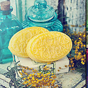 Косметика ручной работы handmade. Livemaster - original item Polesie solid shampoo with keratin. Handmade.