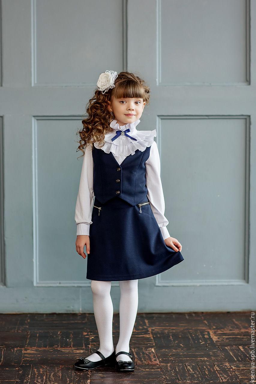 Купить школьную блузку для девочки в интернет магазине екатеринбург