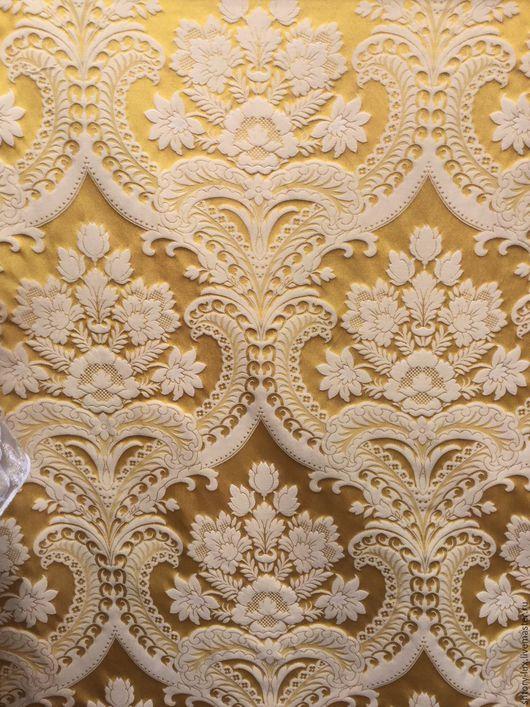 Шитье ручной работы. Ярмарка Мастеров - ручная работа. Купить Ткань для штор арт.30000. Handmade. Золотой, ткань для штор