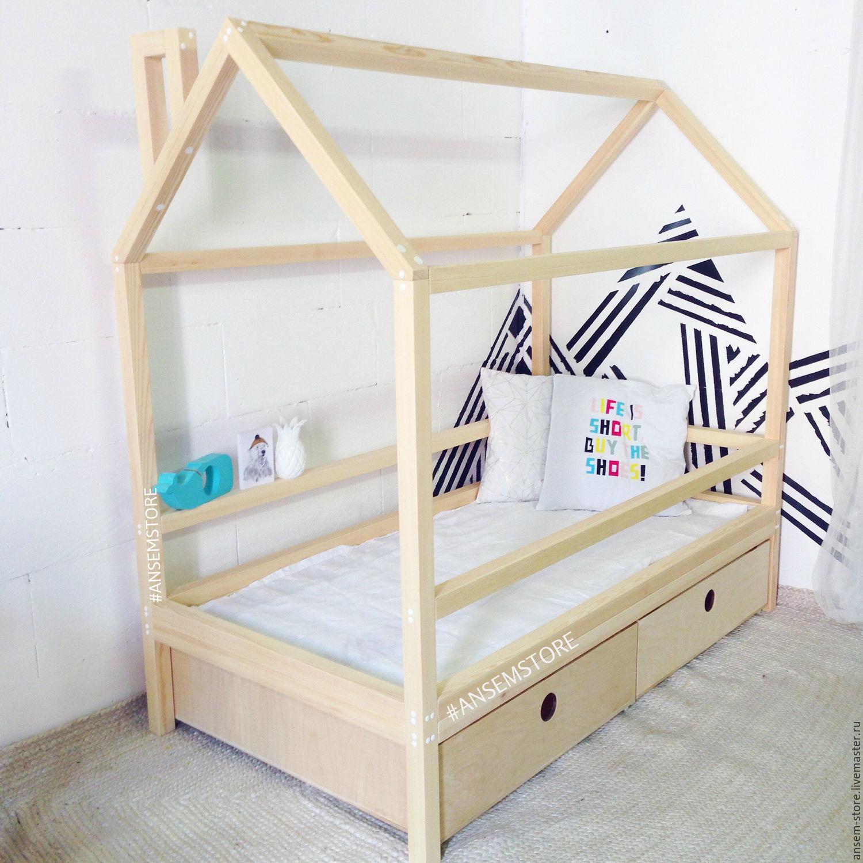 Детская кровать домик своими руками чертежи фото