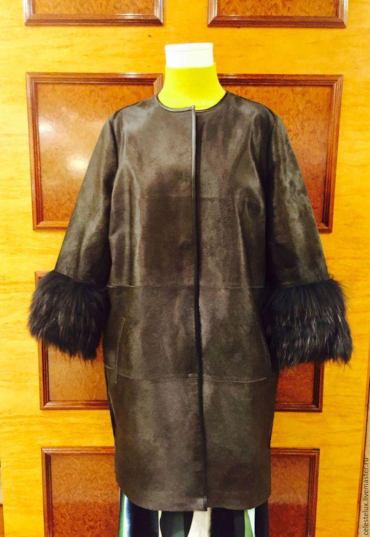 Верхняя одежда ручной работы. Ярмарка Мастеров - ручная работа. Купить Пальто из Меха. Handmade. Москва, мск купить, пальто