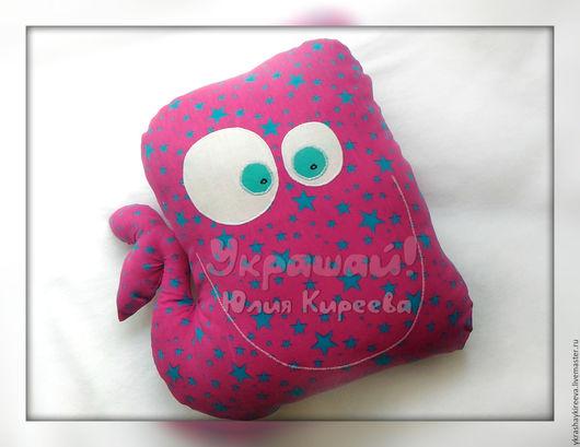 Текстиль, ковры ручной работы. Ярмарка Мастеров - ручная работа. Купить Китенок - озорной малыш (подушка и игрушка). Handmade. Кит