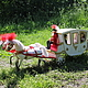 Коллекционные куклы ручной работы. Свадебный экипаж (миниатюра). Лариса Исаева (kuklaelli). Ярмарка Мастеров. Невеста