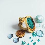 Косметика ручной работы handmade. Livemaster - original item Bath salt Sea salt natural blue. Handmade.