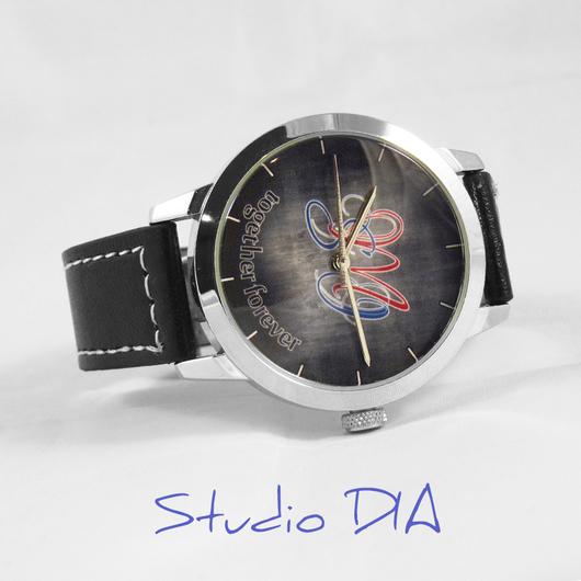 Оригинальные Дизайнерские Часы Под Заказ - Часы С Инициалами. Студия Дизайнерских Часов DIA.