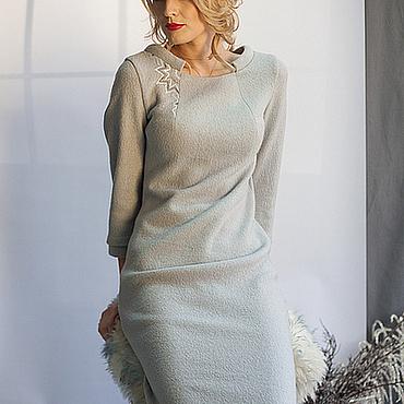 Одежда ручной работы. Ярмарка Мастеров - ручная работа Платье Sole invernale. Handmade.