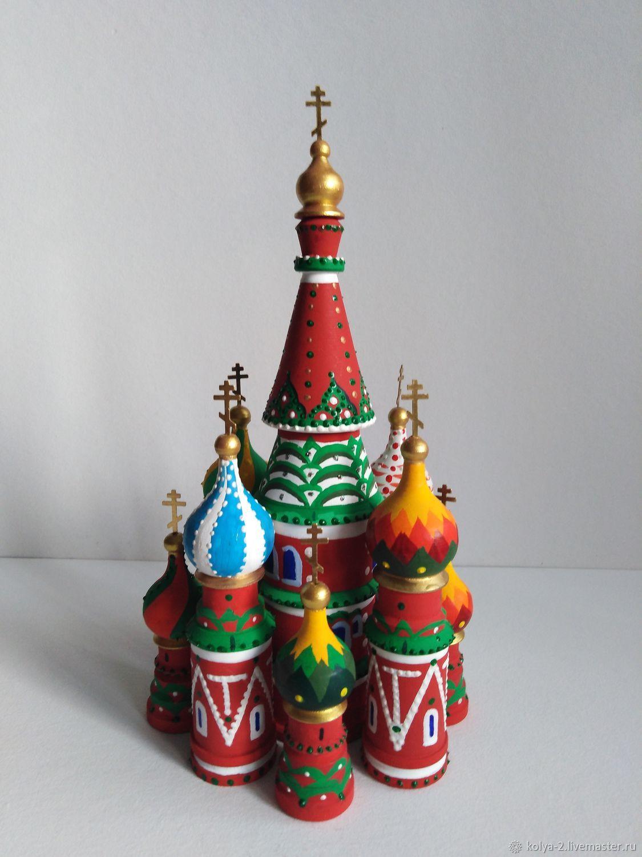 Макет Собора Василия Блаженного(Москва), Модели, Раменское,  Фото №1