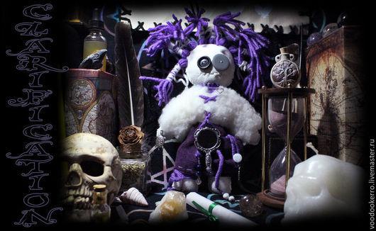 """Обереги, талисманы, амулеты ручной работы. Ярмарка Мастеров - ручная работа. Купить Кукла вуду """"Очищение"""". Handmade. Здоровье, деньги"""