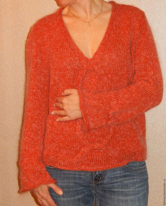 Пуловер в стиле 70-х. Работа Gardarika.