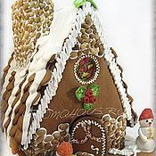 Сувениры и подарки ручной работы. Ярмарка Мастеров - ручная работа Пряничный домик большой. Handmade.