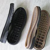 """Материалы для творчества ручной работы. Ярмарка Мастеров - ручная работа Подошва """"Ganga"""" для обуви. Handmade."""