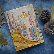 "Канцелярские товары handmade. Livemaster - original item Notepad ""Fairy forest"". Handmade."