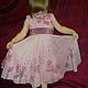 Clothes for Girls handmade. Dress for girl 'Sakura'. Kenaz silk (KENAZ). Online shopping on My Livemaster.