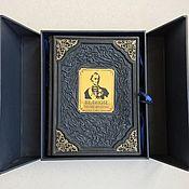 Сувениры и подарки handmade. Livemaster - original item Great generals. Aphorisms... in the casket (leather gift book). Handmade.
